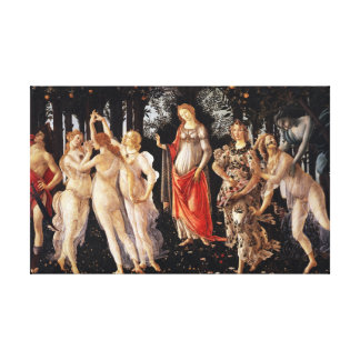 Botticelli Primavera Canvas Print
