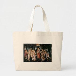 Botticelli-primavera Large Tote Bag