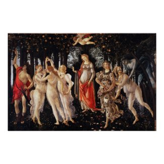 Botticelli Primavera Poster