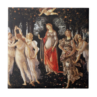 Botticelli Primavera Tile