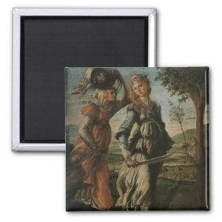Botticelli Renaissance Painting Refrigerator Magnet