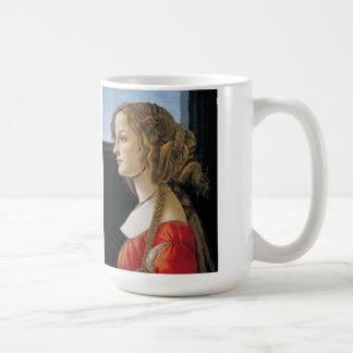 Botticelli Renaissance Painting Mug