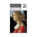 Botticelli Renaissance Painting Postage Stamp