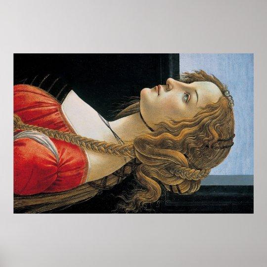 Botticelli Renaissance Painting Poster