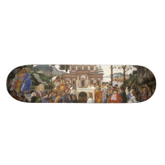 Botticelli Renaissance Painting Skateboard