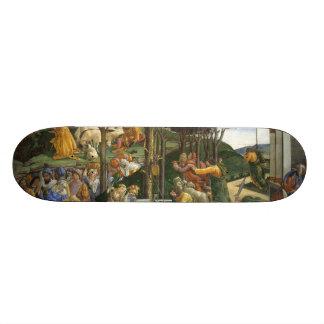 Botticelli Renaissance Painting Skateboard Deck