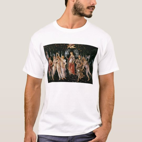 Botticelli Renaissance Painting T-Shirt