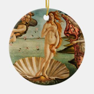 Botticelli's Birth of Venus Ceramic Ornament
