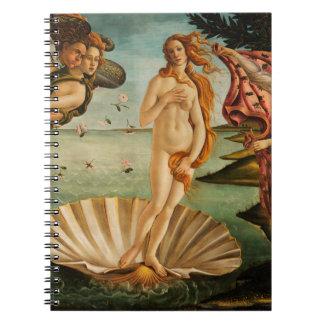 Botticelli's Birth of Venus Notebook