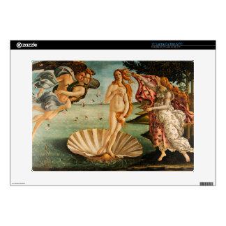 """Botticelli's Birth of Venus Skin For 15"""" Laptop"""