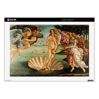 """Botticelli's Birth of Venus Decal For 17"""" Laptop"""