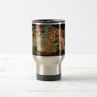 Botticelli's Birth of Venus Travel Mug
