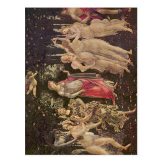 ¿Botticelli, Sandro franco? el hling (Primavera):  Postal