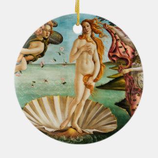 BOTTICELLI - The birth of Venus 1483 Ceramic Ornament