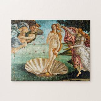 BOTTICELLI - The birth of Venus 1483 Jigsaw Puzzle