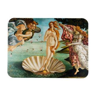 BOTTICELLI - The birth of Venus 1483 Magnet