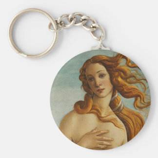 Botticelli The Birth of Venus (Close Up) Keychain
