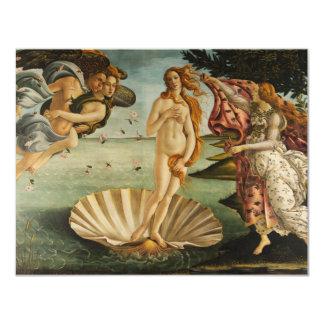 Botticelli The Birth of Venus Invitations