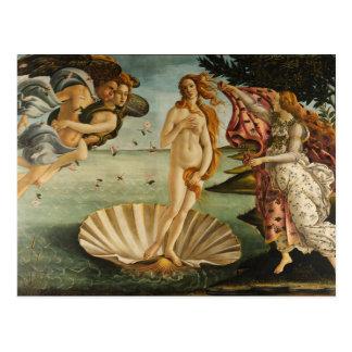 Botticelli The Birth of Venus Postcard