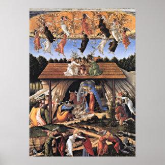 Botticelli: The Mystical Nativity Print