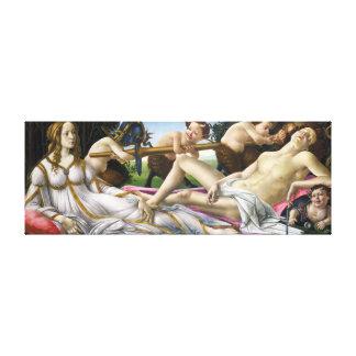 Botticelli Venus and Mars Canvas Print