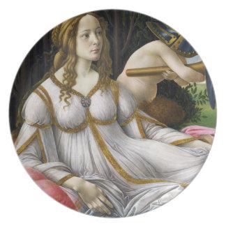 Botticelli Venus and Mars Plate