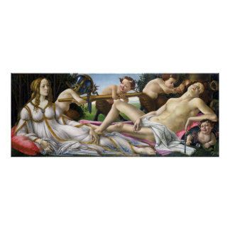 Botticelli Venus and Mars Poster