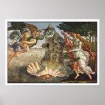 Botticelli's cat print