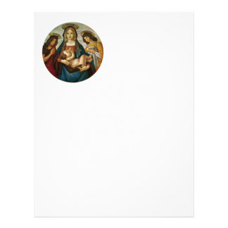 Botticelli's Madonna And Child Flyer