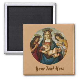 Botticelli's Madonna And Child Magnets