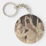 Botticelli's Three Graces Keychain