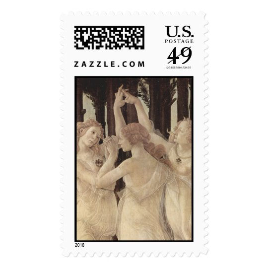 """Botticelli's """"Three Graces"""" Postage Stamps"""