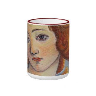 Botticellis Venus Taza De Dos Colores
