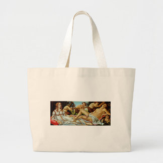 Bottichelli's Venus and Mars Jumbo Tote Bag