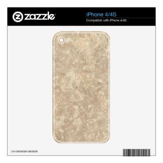 Botticino II Decorative Stone - Light & Elegant Skin For The iPhone 4