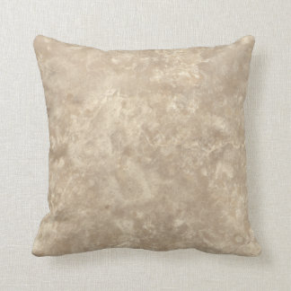 Botticino II Stone Pattern Background Throw Pillow