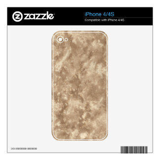 Botticino Stone Pattern Background Decals For iPhone 4S