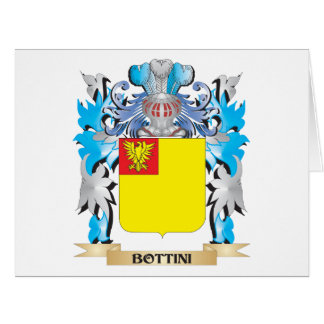 Bottini Coat of Arms Card