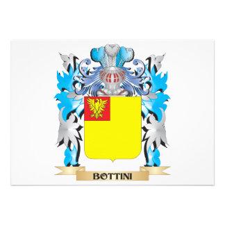 Bottini Coat of Arms Custom Announcement