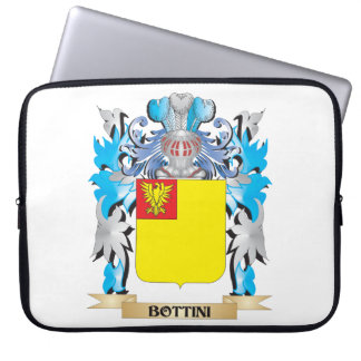 Bottini Coat of Arms Laptop Computer Sleeves