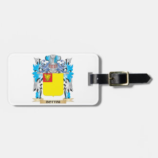 Bottini Coat of Arms Tag For Bags
