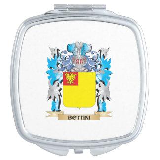 Bottini Coat of Arms Travel Mirror