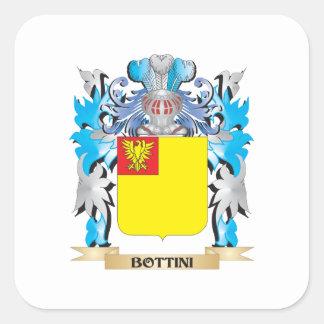 Bottini Coat of Arms Square Stickers