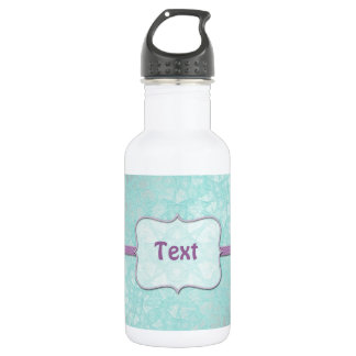 Bottle abstract background retro style 18oz water bottle