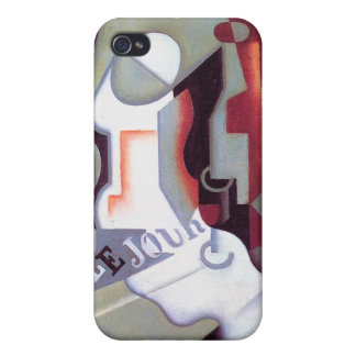 Bottle and Fruit Dish, by Juan Gris Cases For iPhone 4