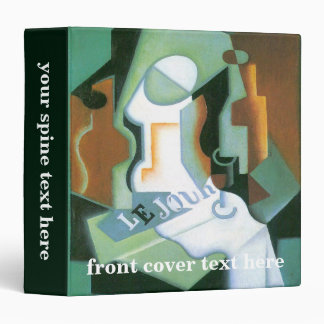 Bottle and Fruit Dish by Juan Gris, Vintage Cubism Binder