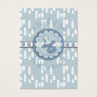 Bottle and Pacifier Baby Shower Gift Tag