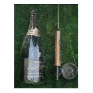Bottle and Rob II 2012 Postcard