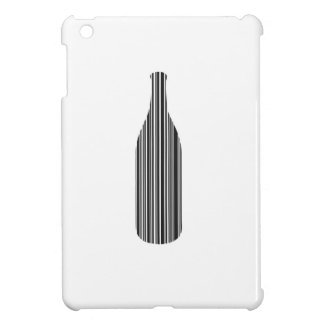 Bottle bar code iPad mini case