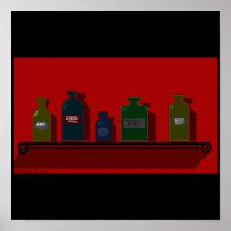 Bottle Cabinet Poster